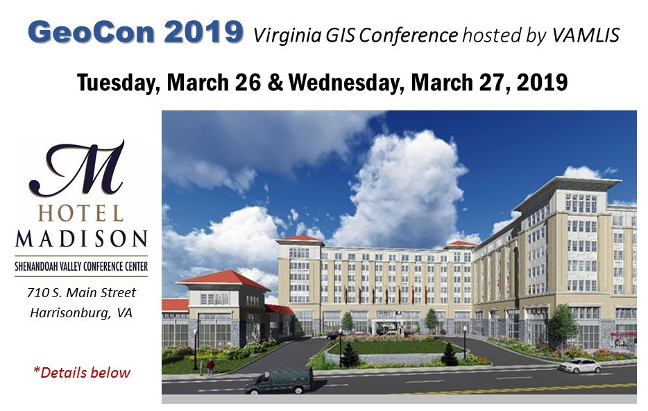 GeoCon 2019 details below